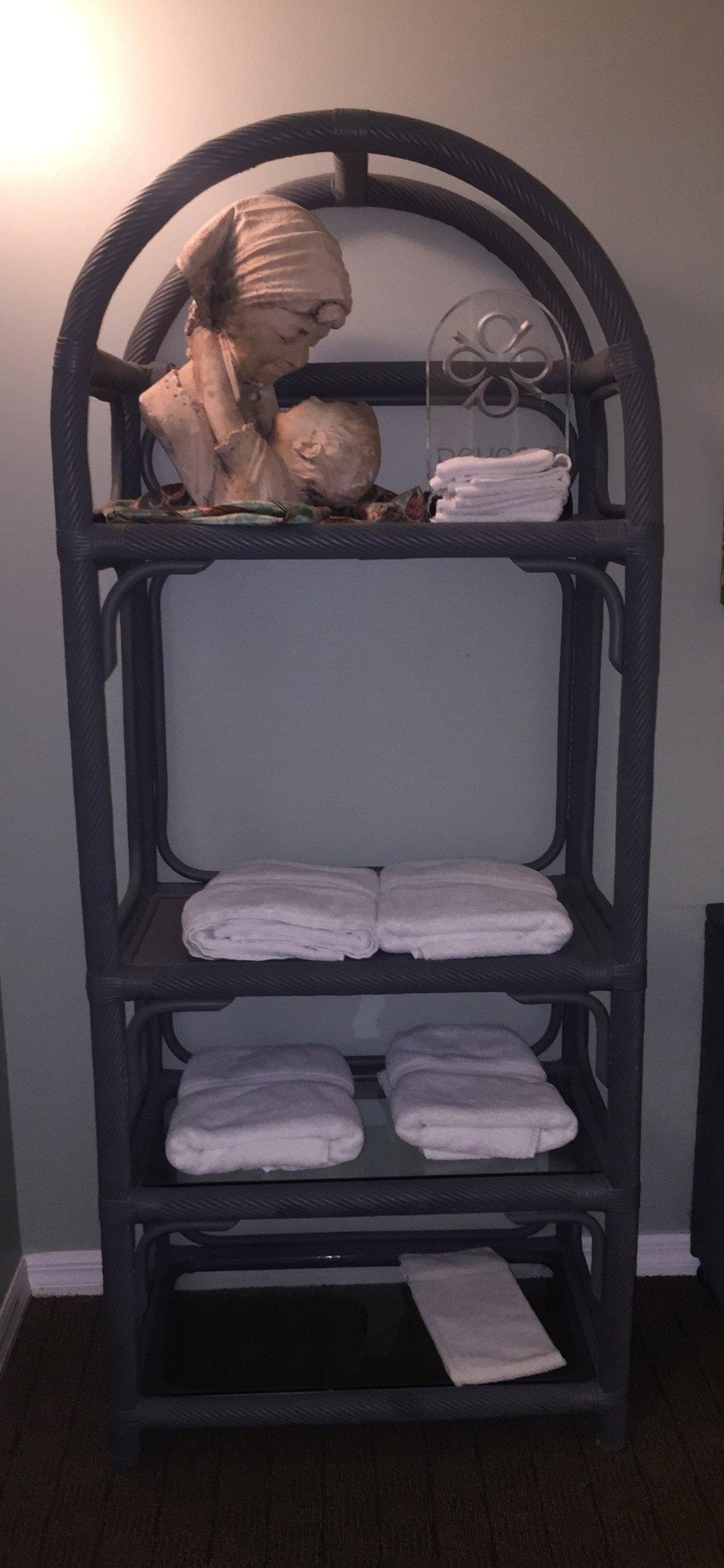Wicker Shelf - $150 (each)