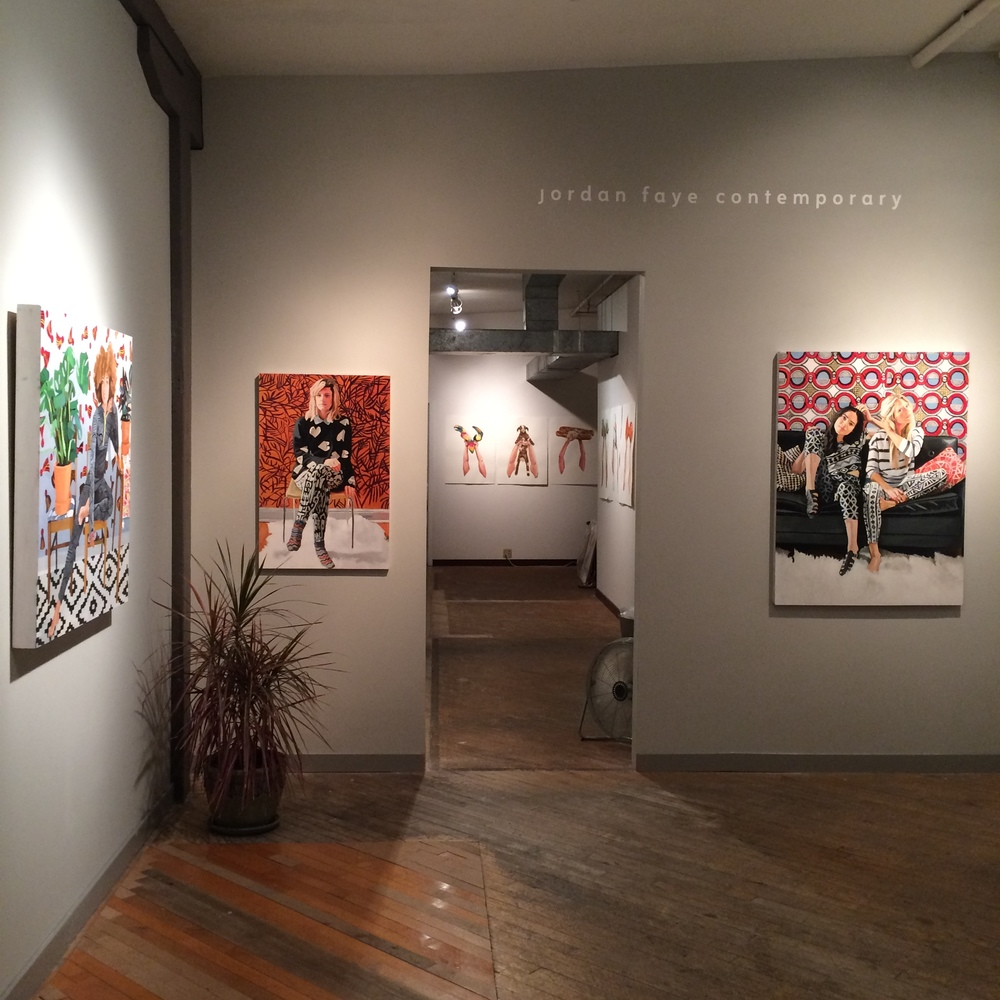 Copy of Erin Fitzpatrick - Portraits, Patterns, Plants: New Paintings