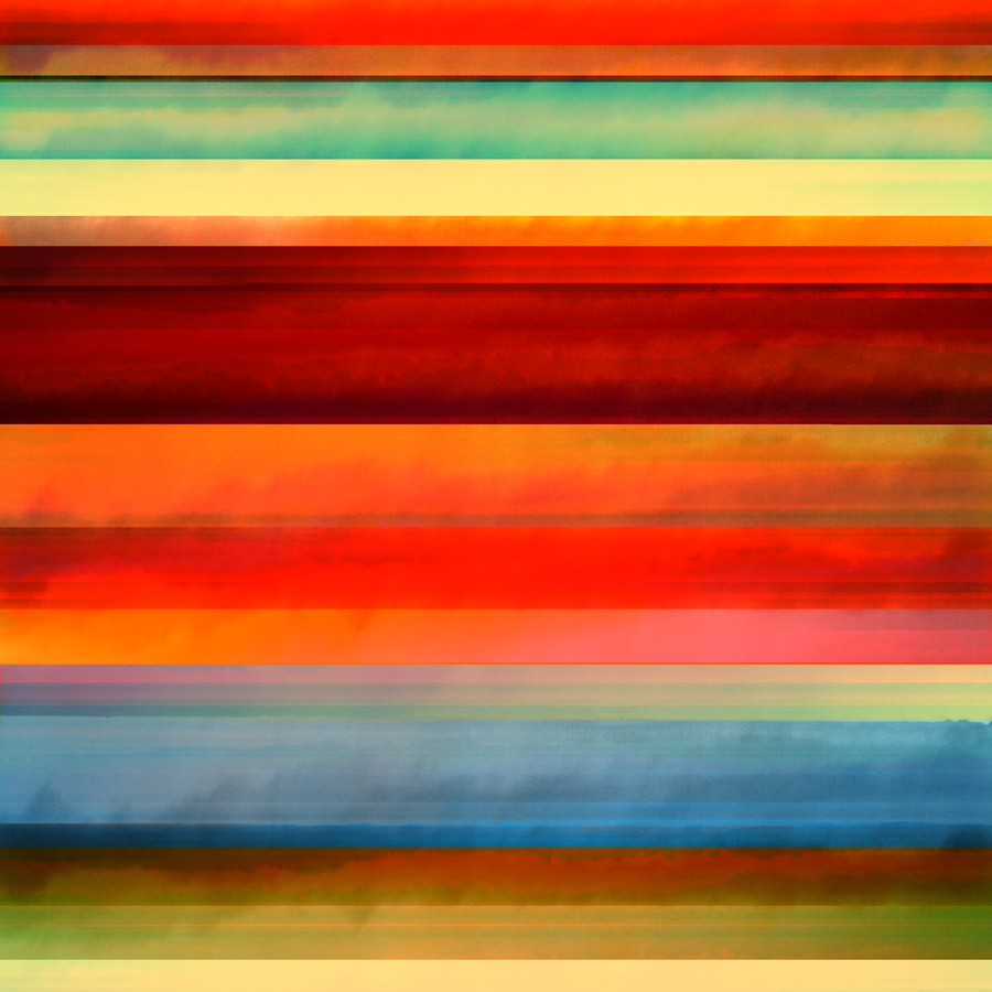 Jenee Mateer, Orange Peal, 2014, archival pigment print on fine art paper, 43 x 45 inches