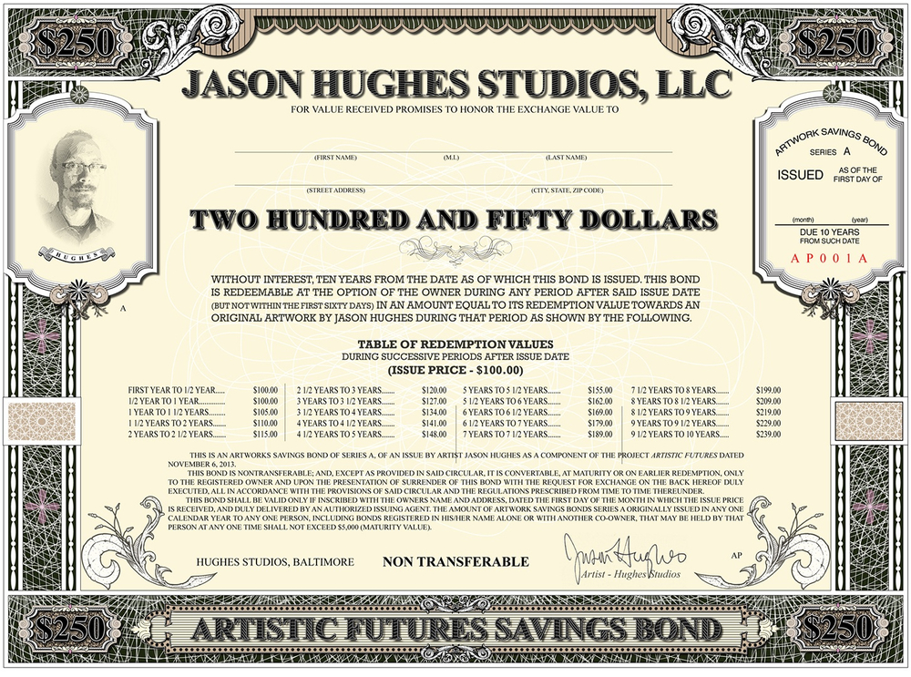 Artistic Futures Savings Bond