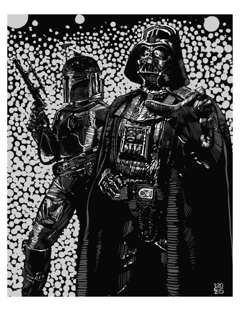 Steve Parke, Boba & Vader