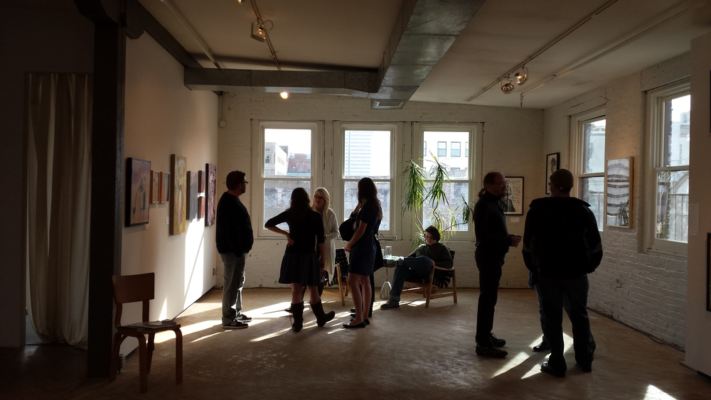 Inaugural THRIVE Artists Exhibition (218 W. Saratoga)