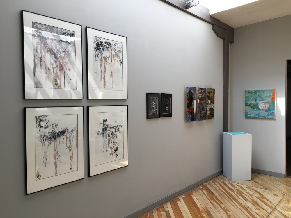 Installation View (front room)