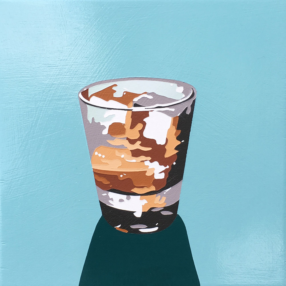 Bourbon Cocktail (on the rocks)