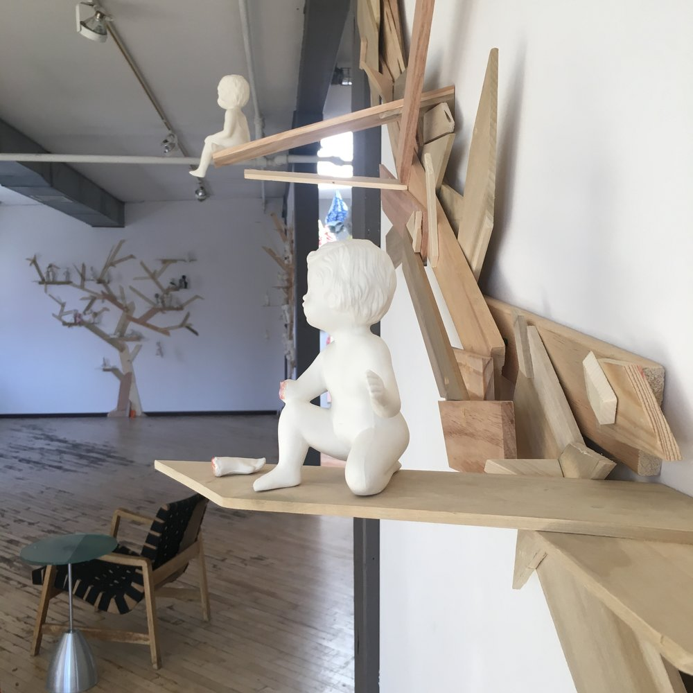 Floating Branch (installation view)