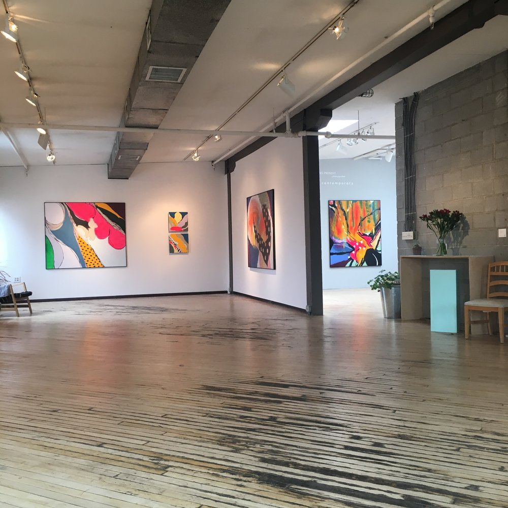 installation view in the west gallery