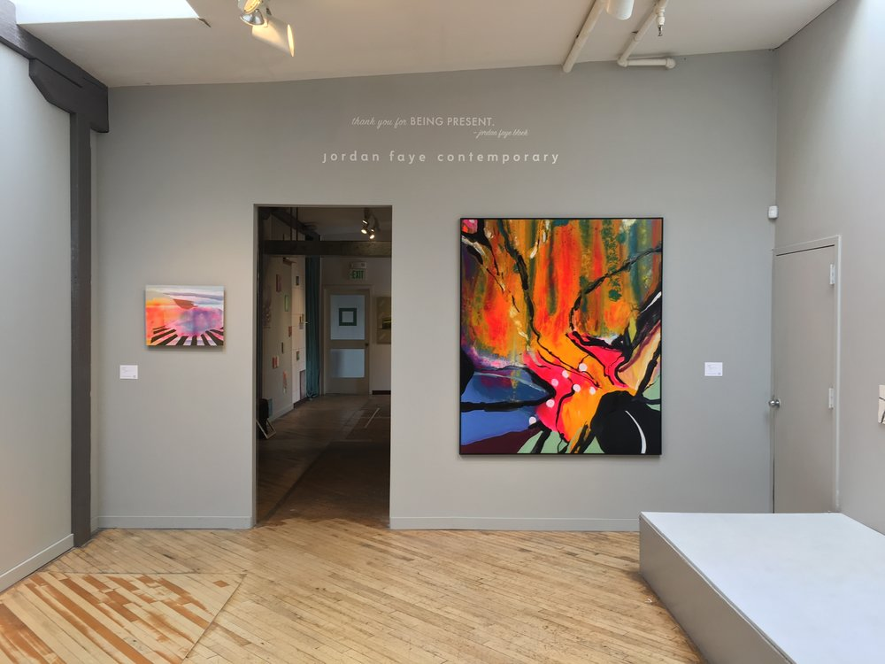 front gallery installation view