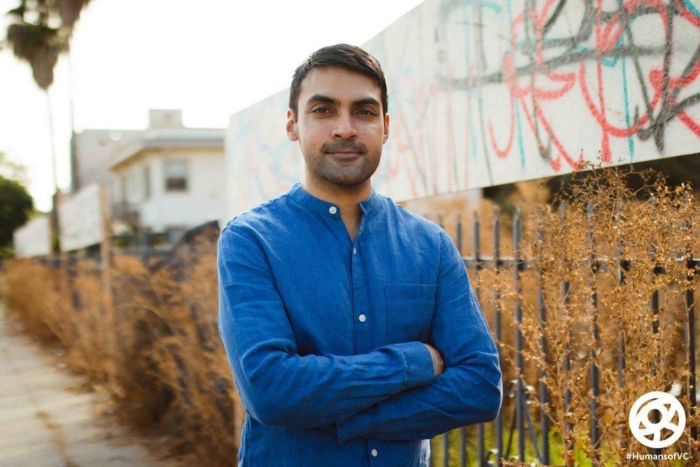 Faroukh Virani, 2016 AWC Fellow/Filmmaker
