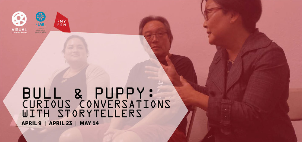 Bull & Puppy: Curious Conversations with Storytellers