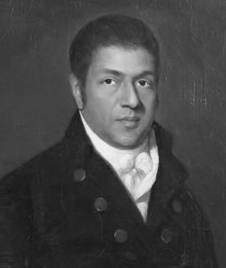 Portrait of Paul Cuffee  by Chester Harding