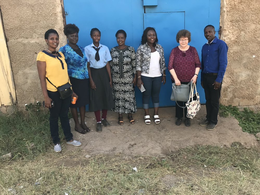 Side by Side board visits Mercyline at Kimana Secondary School for Girls