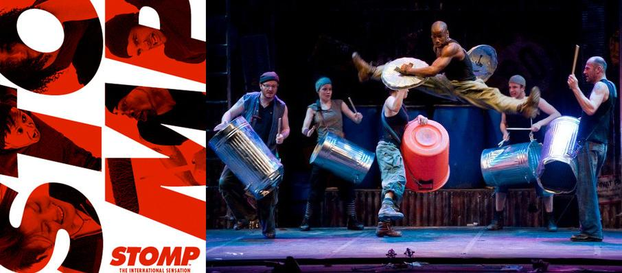 The Rhythm of New York! - Matchboxes, brooms, garbage cans, Zippo lighters and more fill the stage with energizing beats at STOMP, the inventive and invigorating stage show that's dance, music and theatrical performance blended together in one electrifying rhythm.