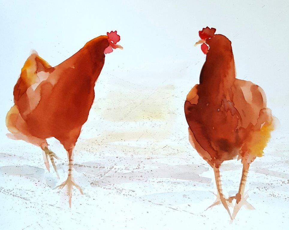 Chicken duet
