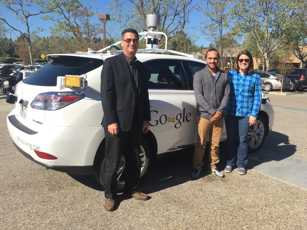 The Google Self-Driving Car testers gave me quite a ride. Or rather than robot inside did….