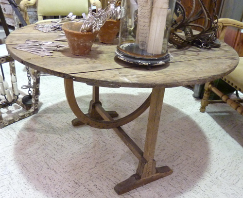 Antique French Vintner Table.jpg