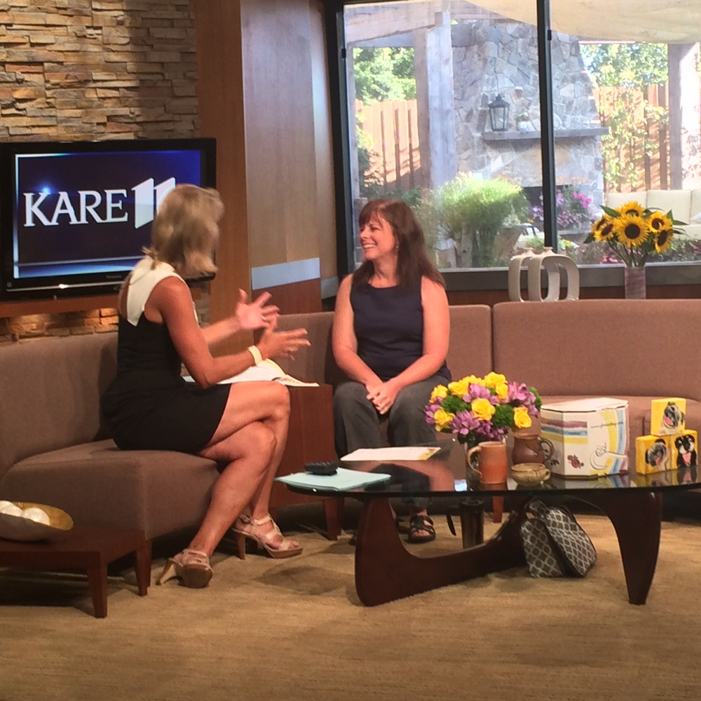 Interview with Belinda Jensen at KARE11