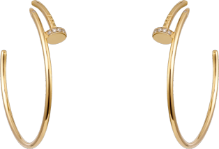 JUSTE UN CLOU EARRINGS Yellow gold diamonds.png
