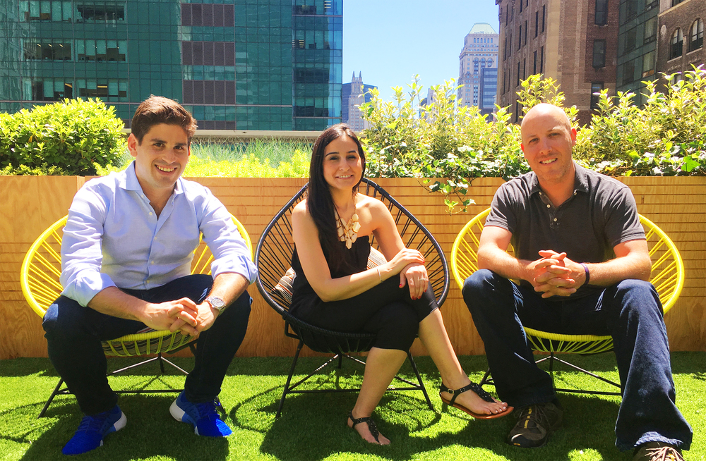 Taste Beauty co-founders: Alex Fogelson, Sabrina Vertucci & Tom Crowley