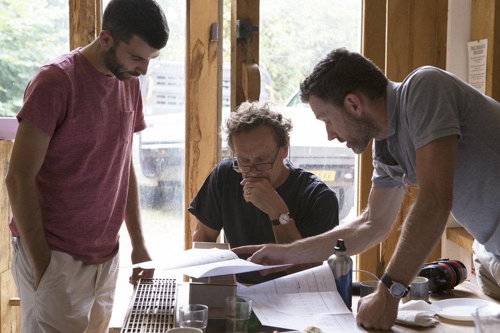 Oliver Charley & Robb discuss model.jpg