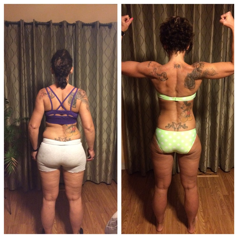 KELLY HENSLEY    Kelly started with us in November of 2015. She came to us with Bursitis in her hip and was struggling to walk without pain.She has been Personal Training and working on Nutrition with Ashley. She also attends multiple classes a week! Her dedication and determination is obvious. Since Kelly began we have cleared up that nasty Bursitis, she has competed in her first Kettlebell Competition and has lost over 20lbs and 13 total inches!