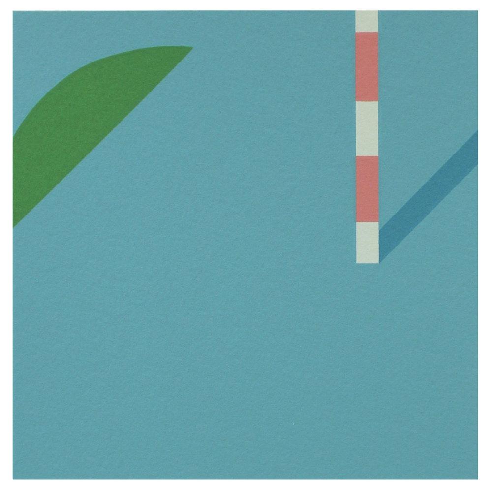 Shogo Okada, Made of Plastic 5, 2016, screenprint
