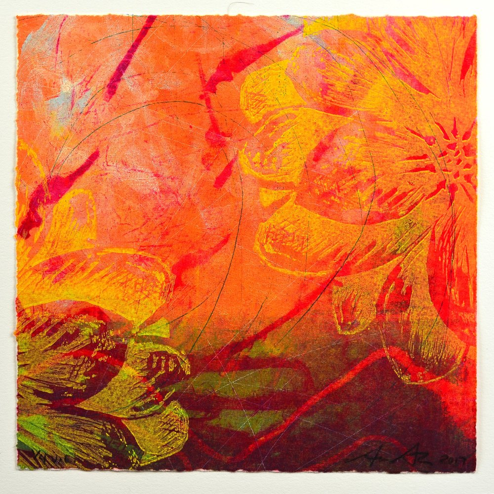David Brown   Untitled   Encaustic Monotype