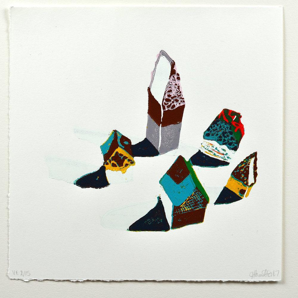 Jen Hamilton    Untitled   Linocut