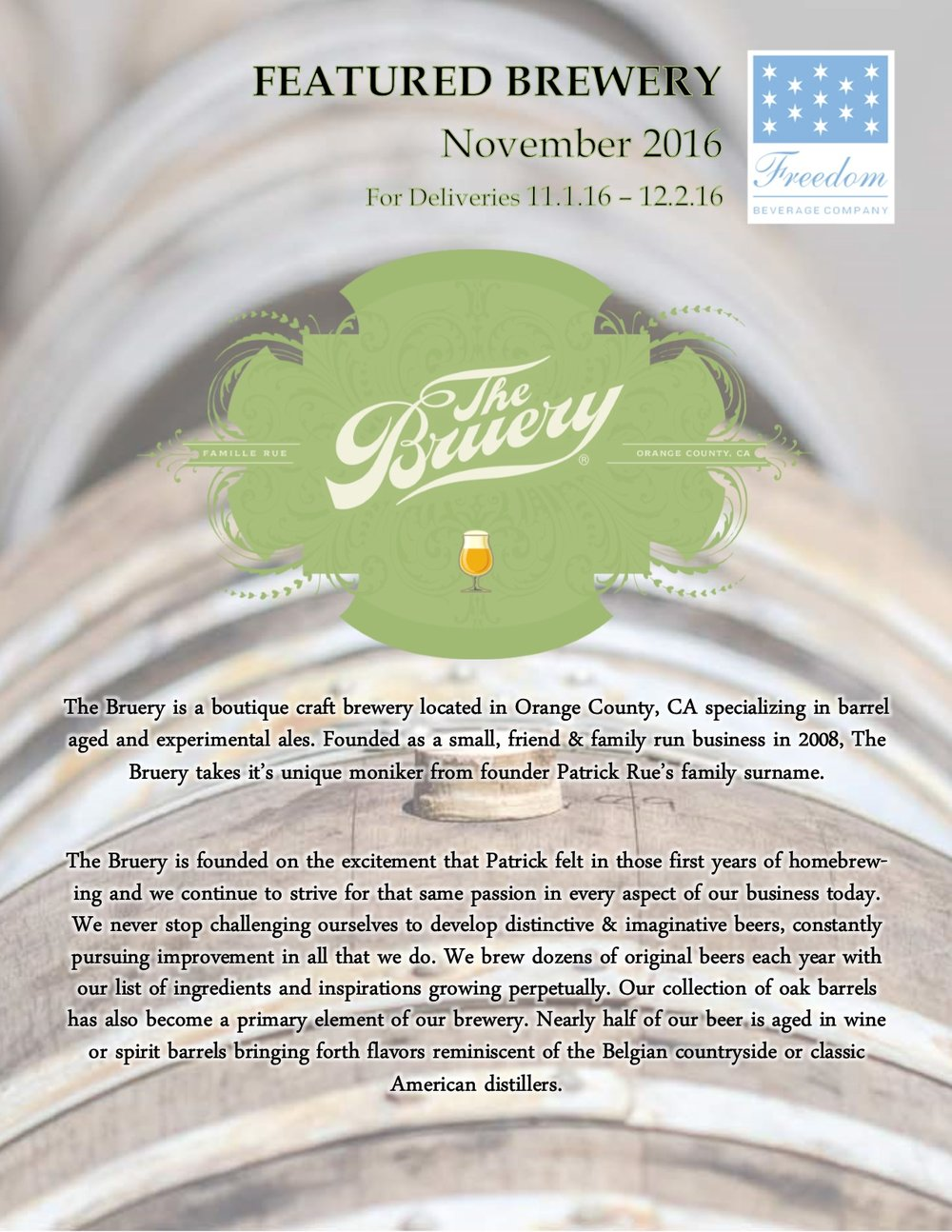 Nov. 2016 Featured Brewery - The Bruery.jpg