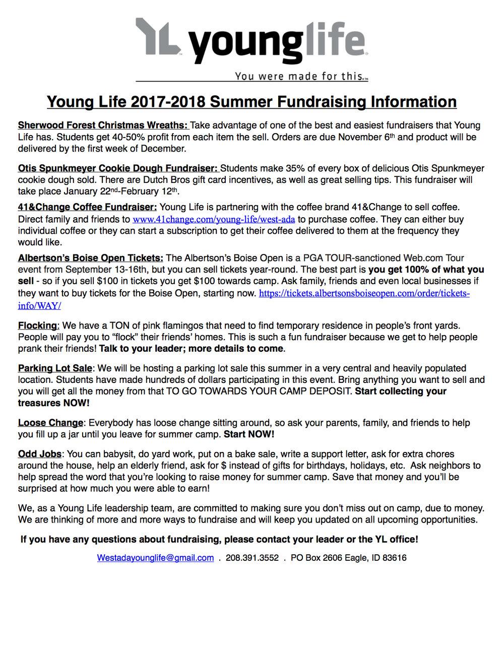 2017-2018 Camp Fundraiser.jpg