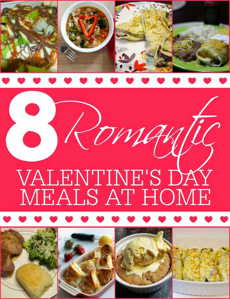 8 Romantic Valentine's Day Meals at Home