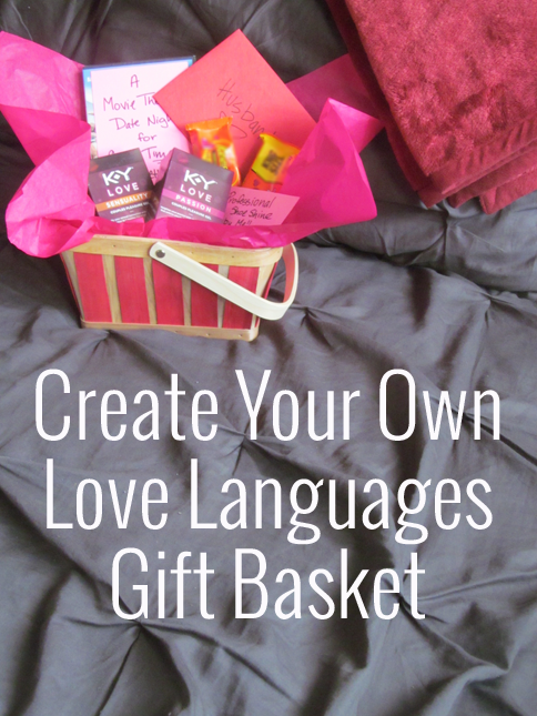 Love Languages gift basket ideas