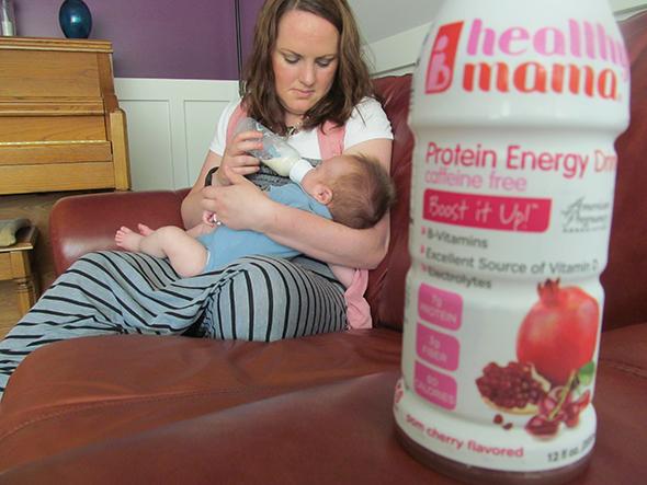healthy mama feeding