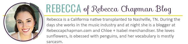 Rebecca Chapman Blog