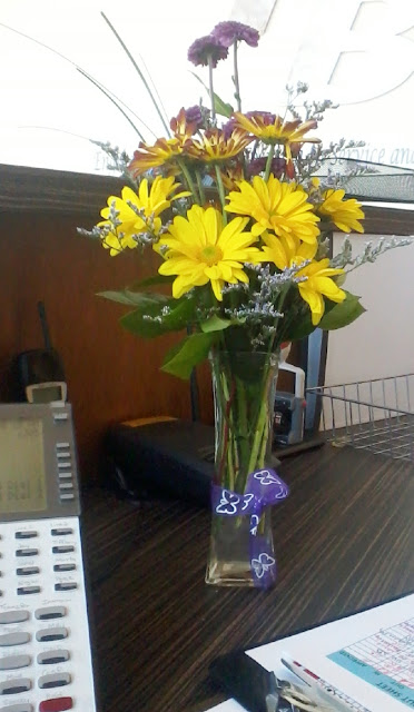 Flowers from Husband