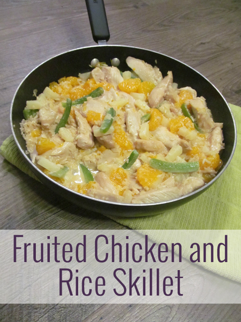 Fruited Chicken and Rice Skillet
