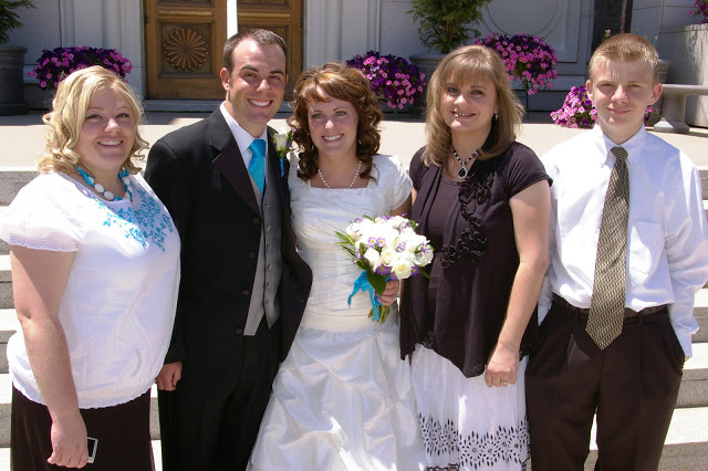 Temple Wedding Family