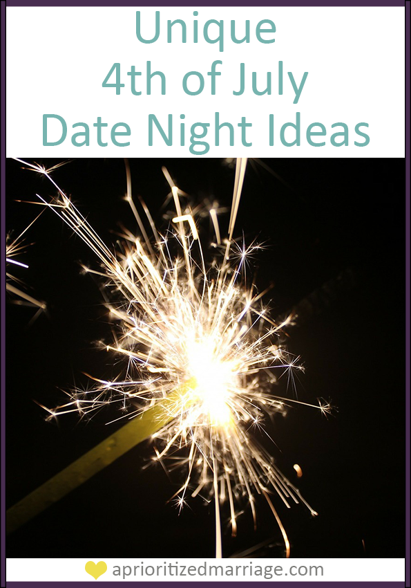 Make your 4th of July holiday memoralb with these three great date night ideas.