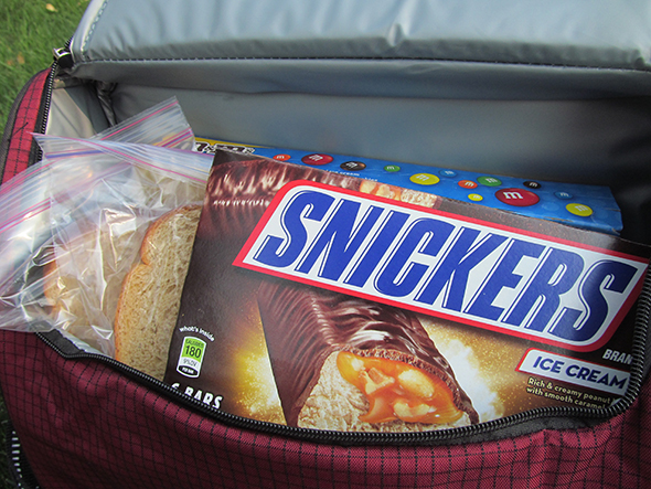 SNICKERS® Ice Cream Bars for your summer picnic