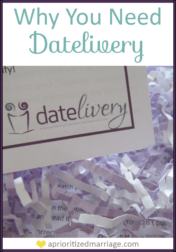 Every marriage needs a Datelivery date night subscription