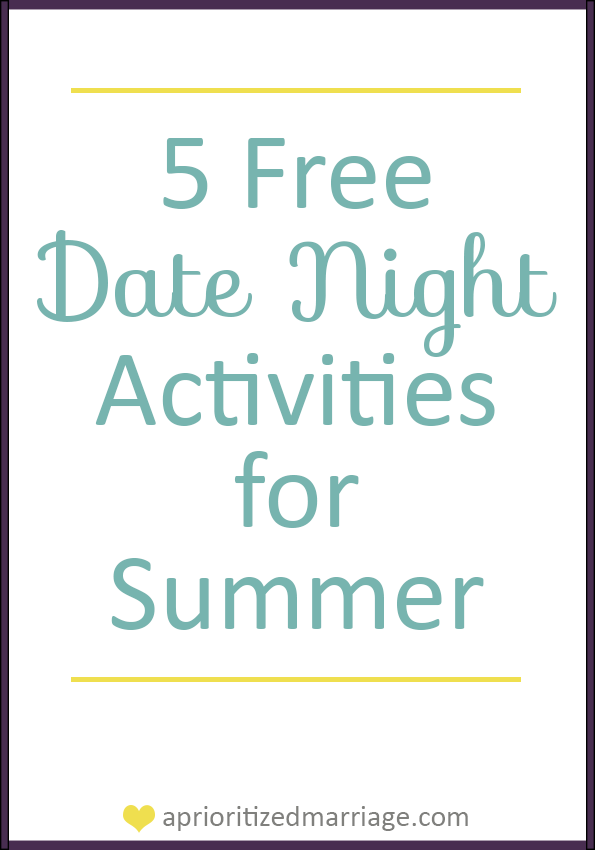 Free Summer Date Nights