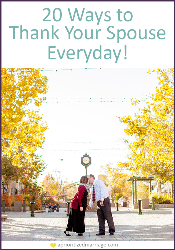 Tips for daily thanksgiving in your marriage