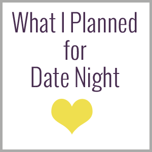 What would you do with a date night?