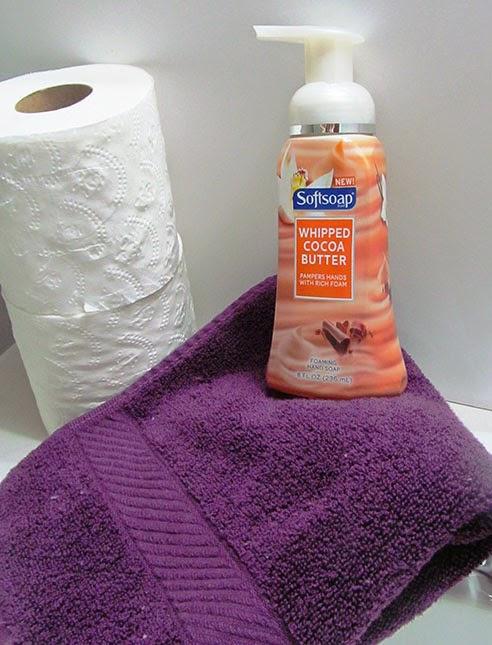 Bathroom guest preparation