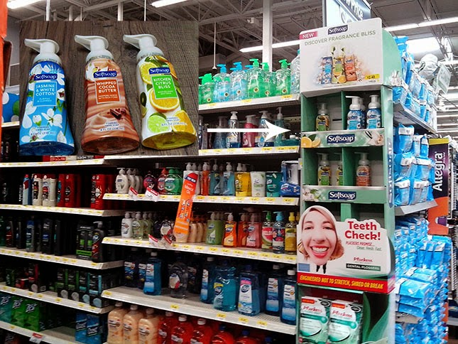 Softsoap Foaming Hand Soap in Walmart Stores
