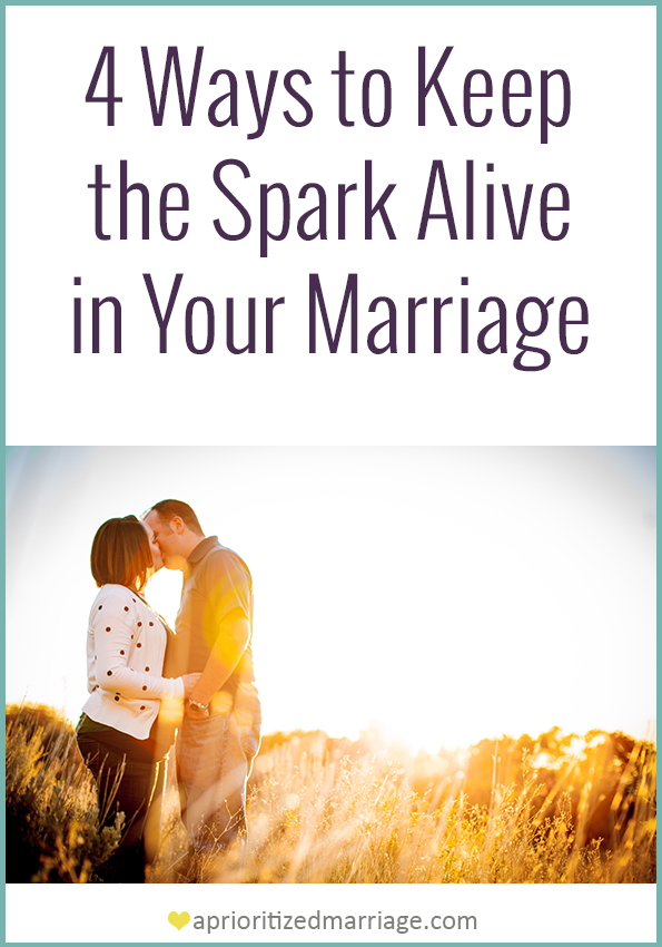 You can keep the spark alive, no matter how long you've been married.