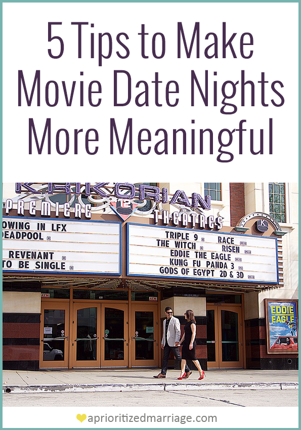 Make movie date nights more meaningful for your relationship