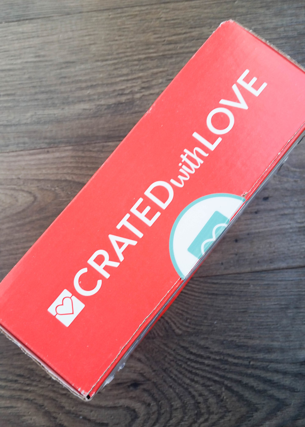 Crated with Love Date Box