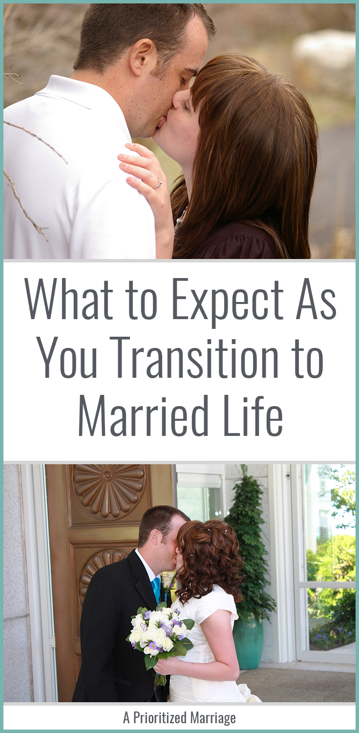 One couple's experience as they transitioned from dating to engaged to married. Is marriage really as big of an adjustment as everyone says it is?