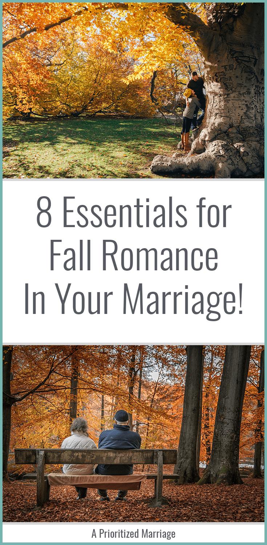 Ideas for fall romance