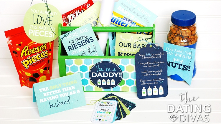 new daddy gift basket